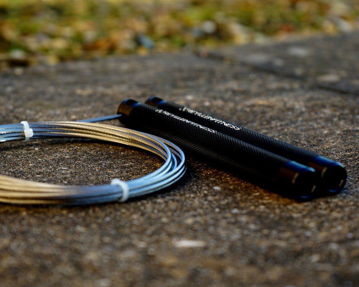 Flare Jet Black Speed Rope