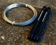 Flare EZ Top Black Jump Rope