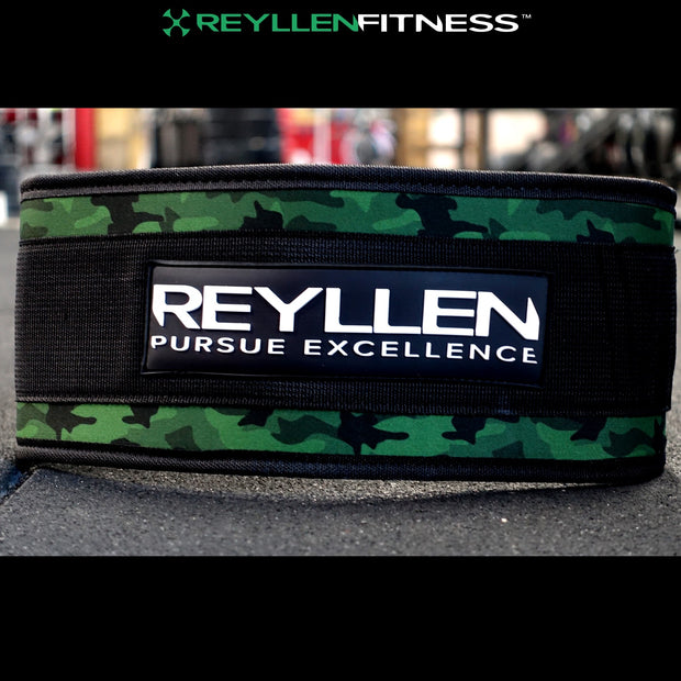 Camo Venor™ Nylon Weightlifting Belt - Reyllen Fitness