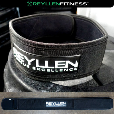 "Venor™ 4"" Nylon Weightlifting Belt - Reyllen Fitness"