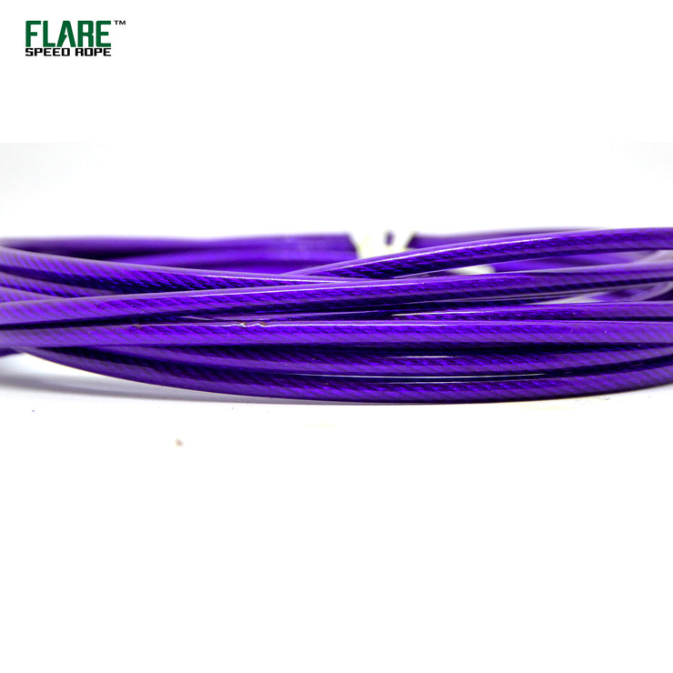 Flare Matte Blue Speed Rope