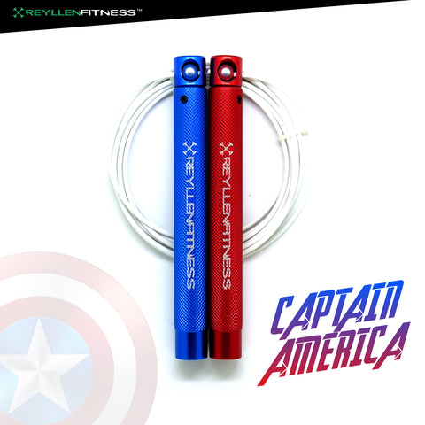 Captain America - Flare XL Speed Rope