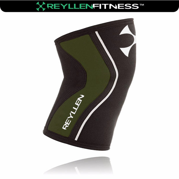 Venta Khaki 7mm Knee Sleeves (Pair) - Reyllen Fitness