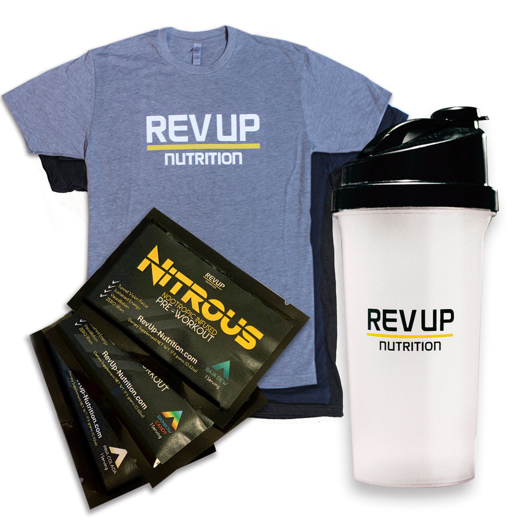 Bundle Pack and Preworkout Samples - RevUp Nutrition