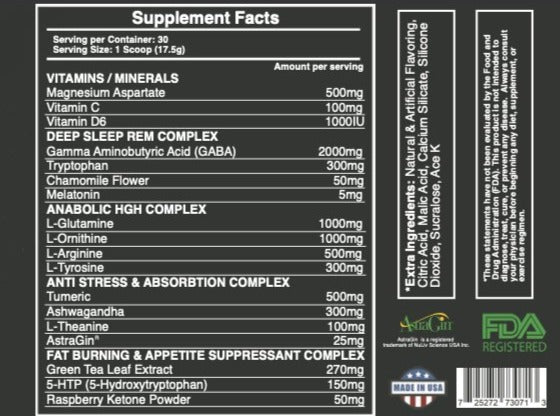 LIGHTS-OUT - HGH Boosting Sleep Aid