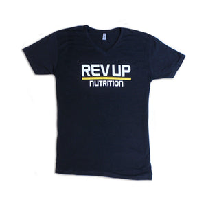 RevUp Nutrition Mens V-Neck Tee - RevUp Nutrition
