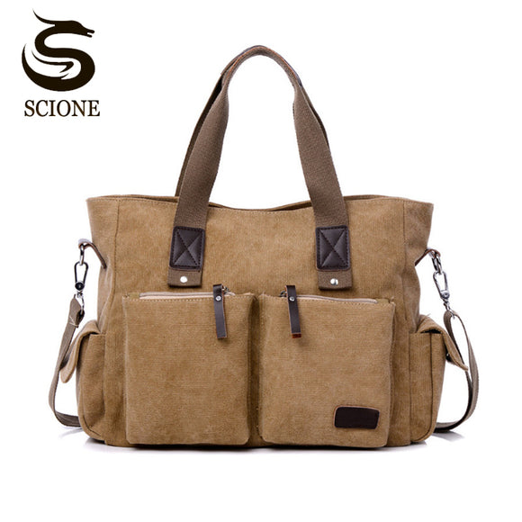 cf99d6cb81 Top Canvas Leather Men Travel Bags Hot Casual Travel Totes Large Capacity  Waterproof Luggage Bag Business