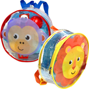 Dough Dots!™ Lion & Monkey Backpack Playset Bundle