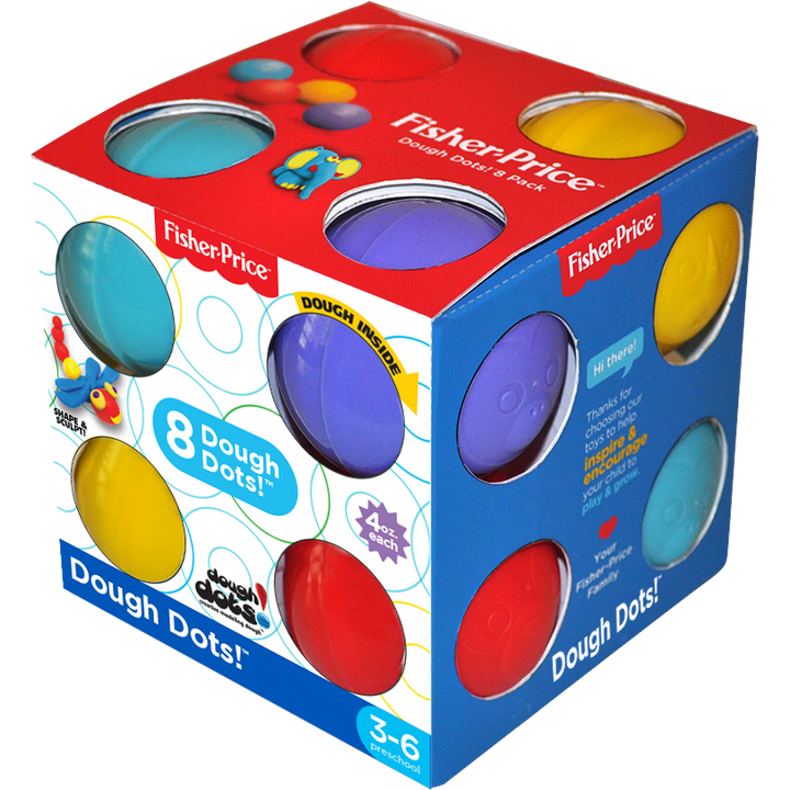Dough Dots!™ 8-Pack Cube Box