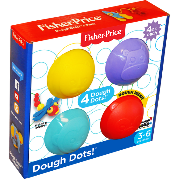 Dough Dots!™ 4-Pack Square