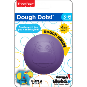 Dough Dots!™ Individual Pack - Hippo Purple