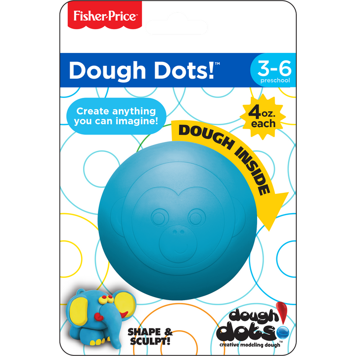 Dough Dots!™ Individual Pack - Monkey Blue