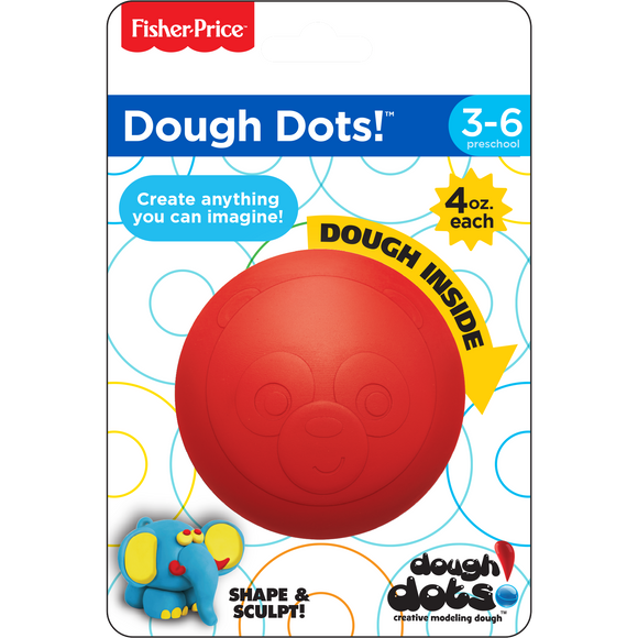 Dough Dots!™ Individual Pack - Panda Red