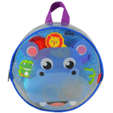 Dough Dots!™ On The Go Silhouette Backpack Playset - Hippo