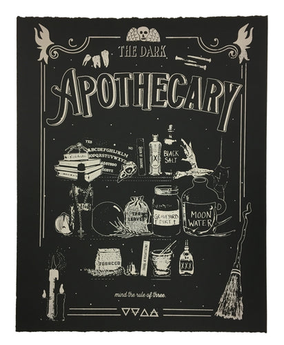 The Dark Apothecary - Limited edition screen print