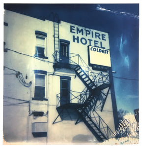 Empire Hotel (Regina, SK) Digital Print from Polaroid Photograph