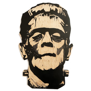 Wooden Frankenstein Wall Hanging