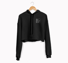 The Ghost Club Embroidered Women's Cropped Hoodie