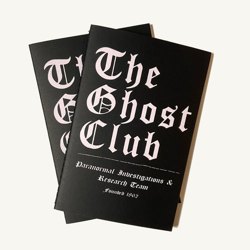 Ghost Club Lined Notebook