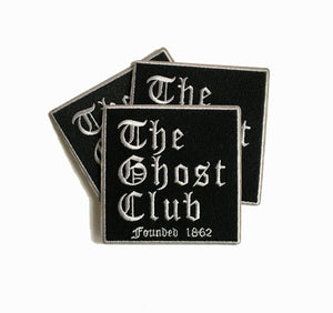The Ghost Club Embroidered Iron-on Patch