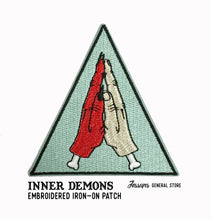 Inner Demons Embroidered Iron-On Patch