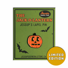 The Jack-o-lantern limited edition lapel pin