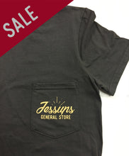 Jessup's General Store - Unisex Pocket Tee - Available in Charcoal and Navy