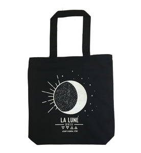 La Lune Moon Tarot Medium Weight Tote Bag