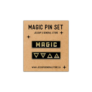 Magic Lapel Pin Set