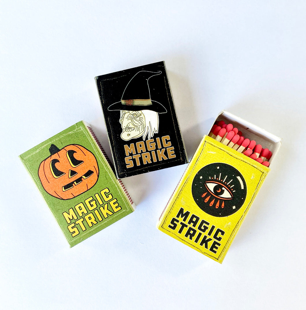 Magic Strike Match Boxes - 3 designs available