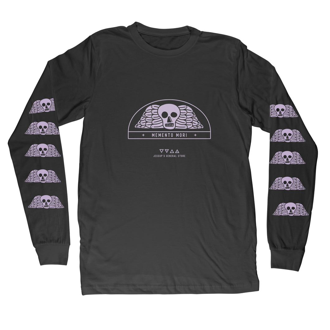Memento Mori Long Sleeve Unisex Shirt