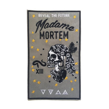 Madame Mortem Fortune Teller Embroidered Iron-on Patch