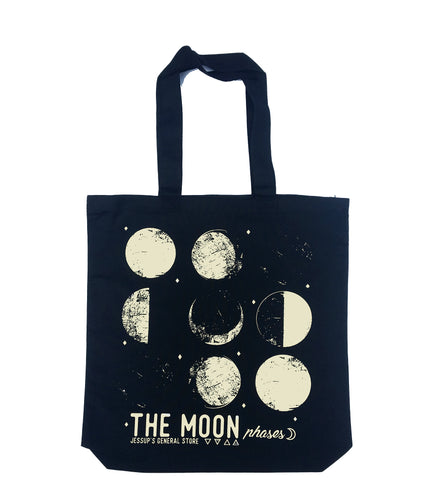 The Moon Phases Medium Weight Tote Bag