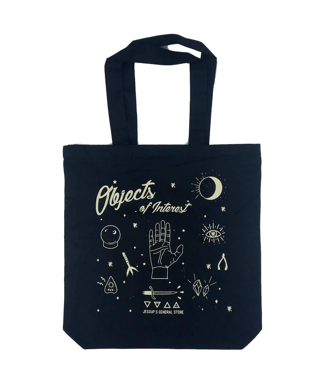 Objects of Interest Medium Weight Tote Bag