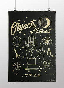 Objects of Interest - Limited edition screen print