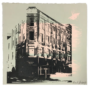 Oxford Hotel (Winnipeg, MB) - Limited edition print