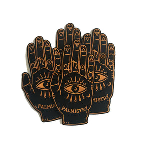 Palmistry Chiromancy Embroidered Iron-on Patch