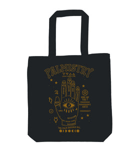 Palmistry Chiromancy Tote Bag