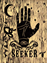Seeker - Woodblock Print