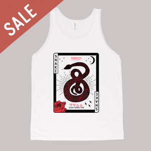 Snake of Moons Unisex Tank Top