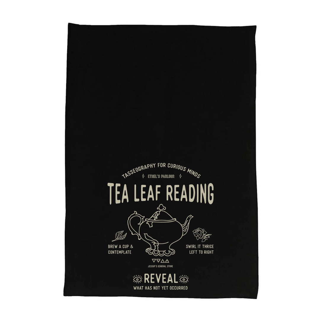 Tea Leaf Reading Tea Towel