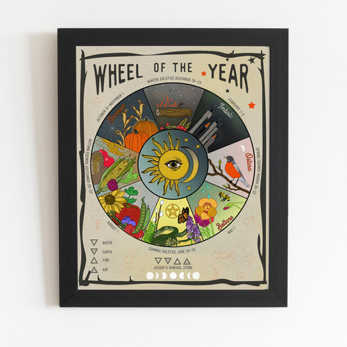 Wheel of the Year - 16 x 20 Print