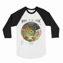 Wheel of the Year Ladies Baseball Tee