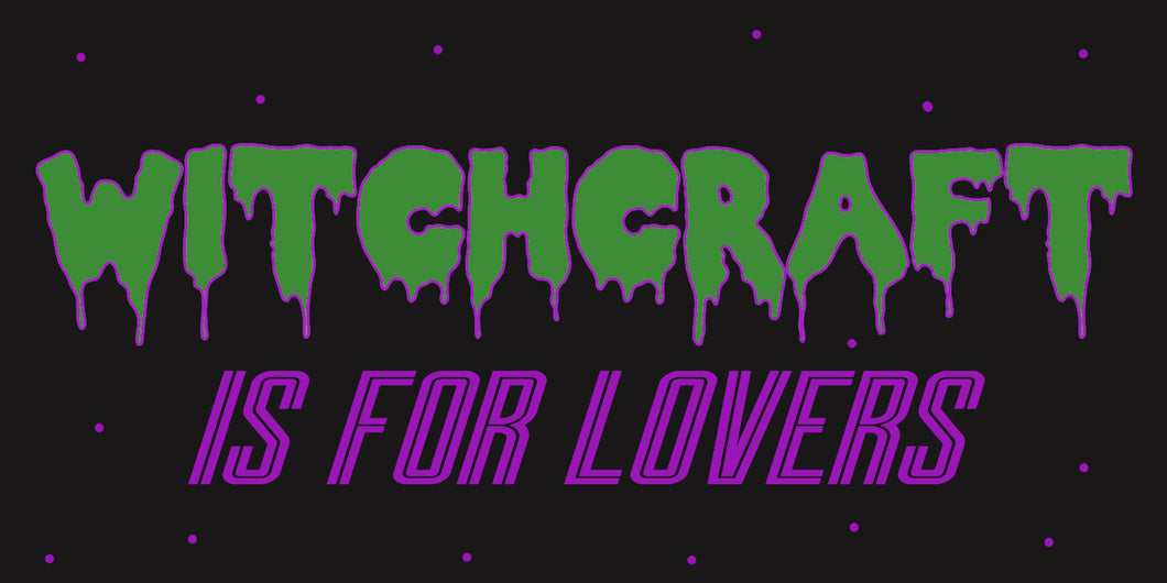 Witchcraft is for Lovers Glossy Sticker