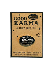 Jessup's Good Karma Lapel Pin