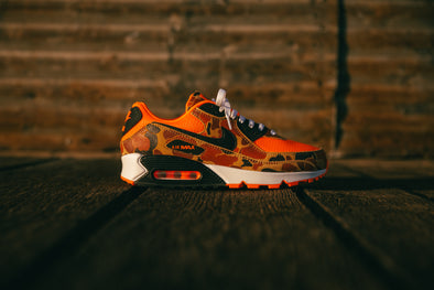 Nike Air Max 90 Total Orange Duck Camo