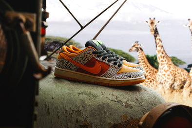 "Nike SB Dunk Low ""Safari"" available 3.14.2020"