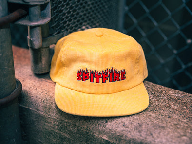 Spitfire Flash Fire Corduroy Snapback
