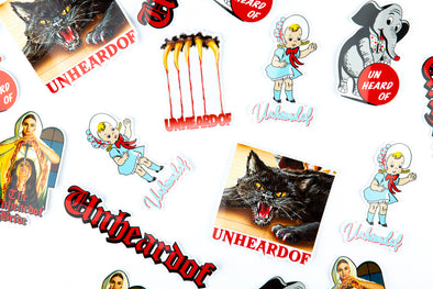 UNheardof Sticker Pack 2.0