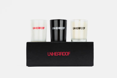 UNheardof Candle Set